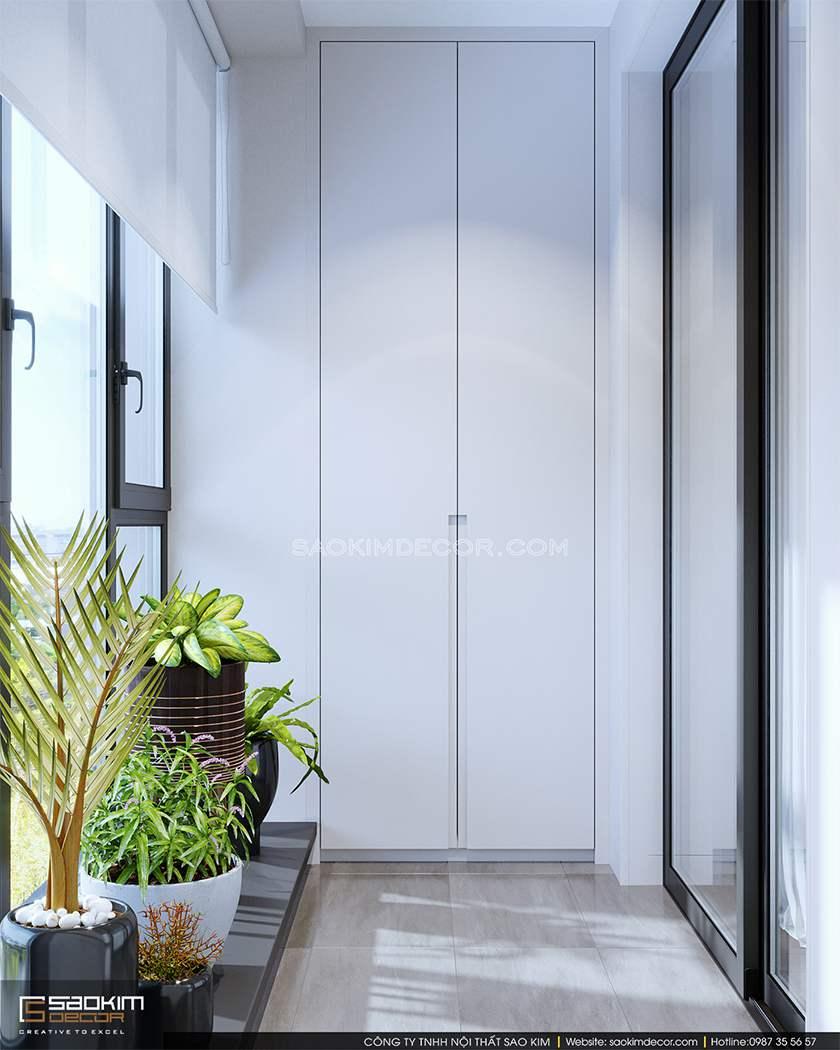 Thiết kế logia chung cư