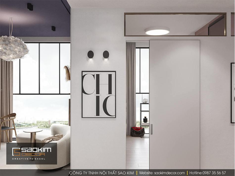 Thiết kế nội thất chung cư nhỏ Vinhome D'Capitale