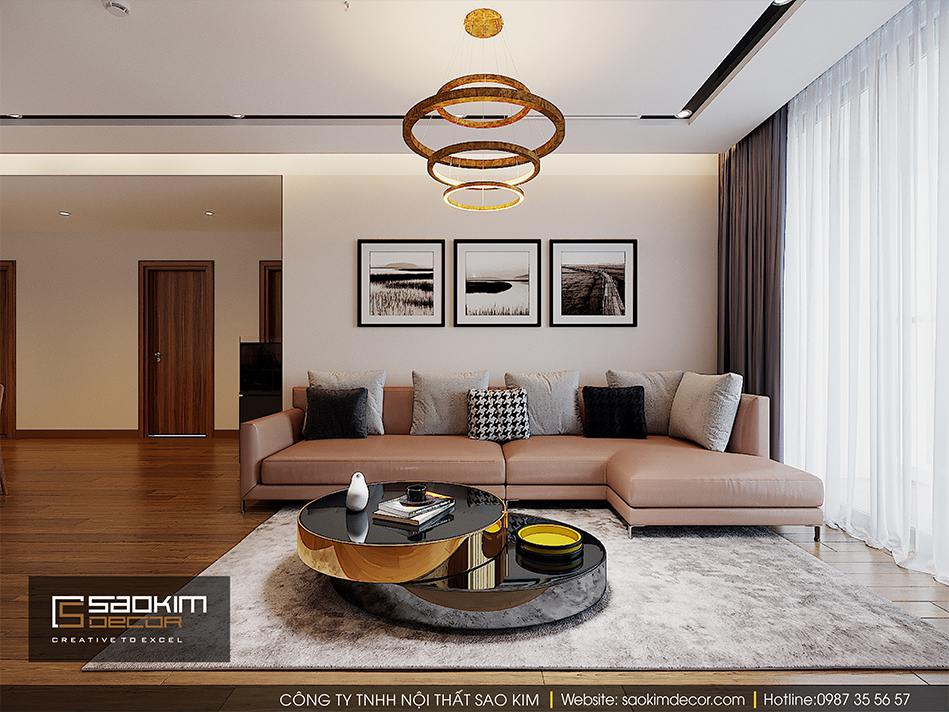 Thiết kế căn hộ cao cấp Vimhomes Metropolis Liễu Giai