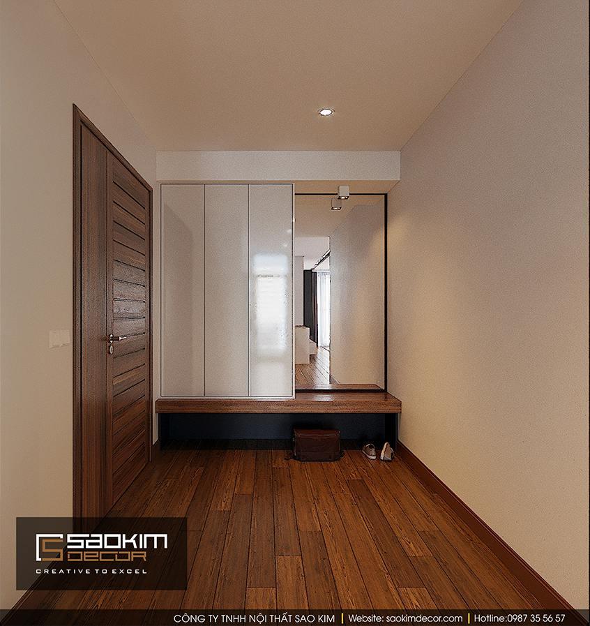 Thiết kế nội thất hành lang