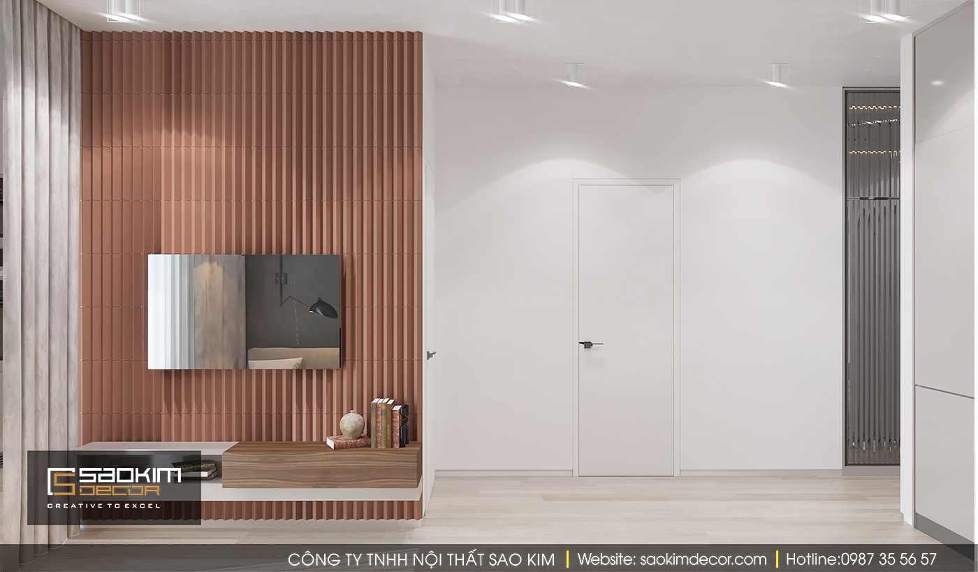 Thiết kế nội thất phòng khách chung cư Time City