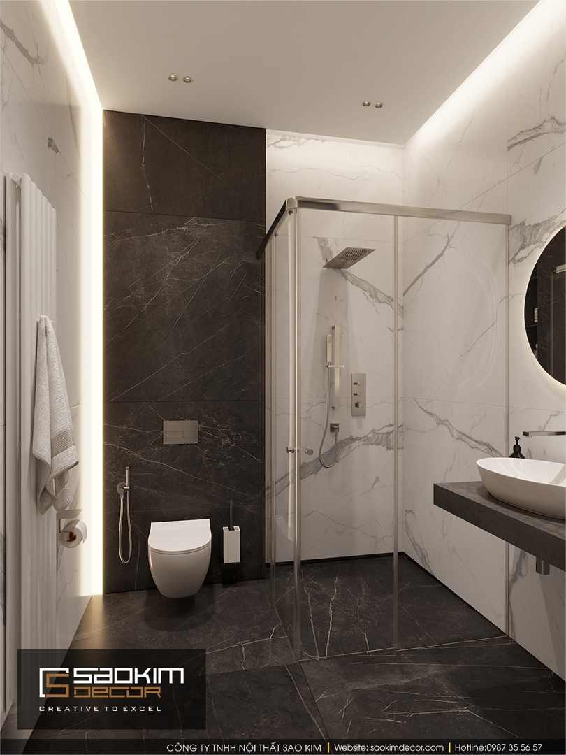 Thiết kế phòng ngủ tắm chung cư