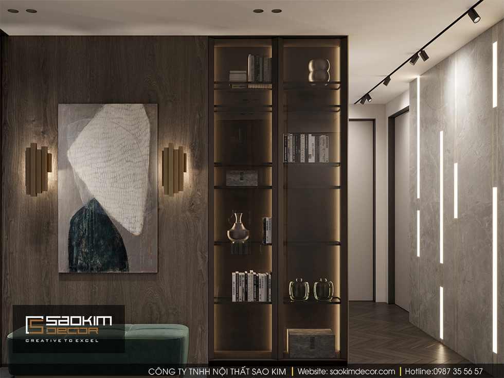 Thiết kế chung cư 85m2 Bohemia Residence