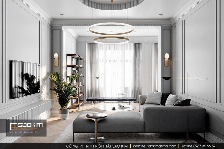 Thiết kế nội thất chung cư cao cấp CT1 Eco Green City