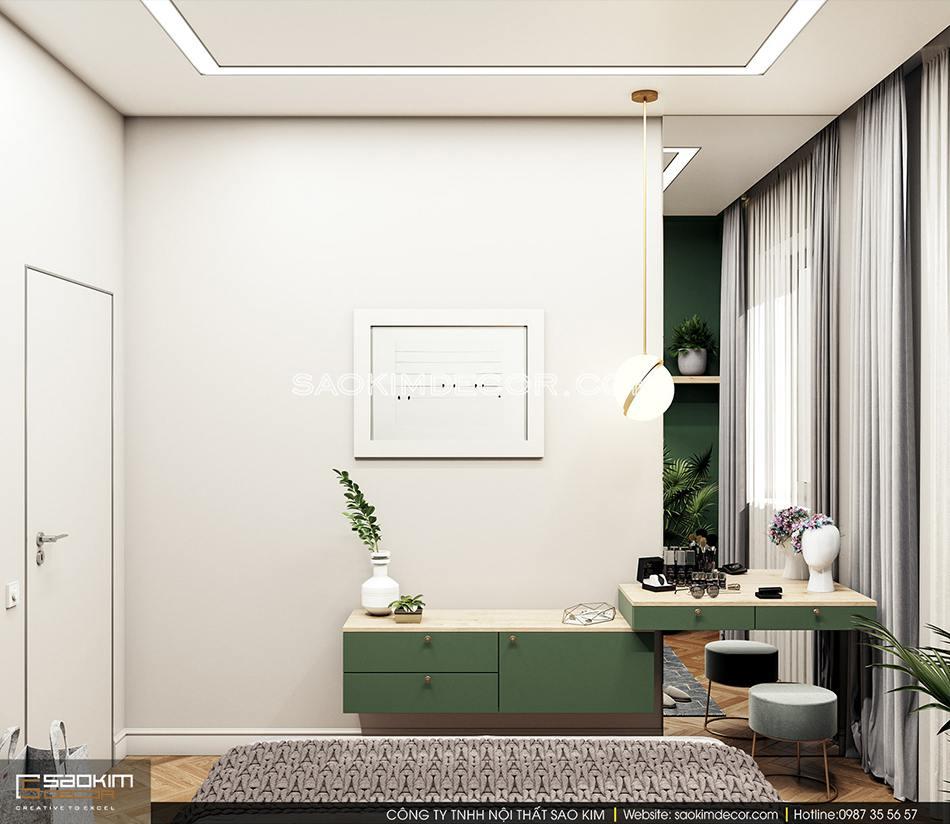Thiết kế phòng ngủ tối giản, tinh tế và thư giãn
