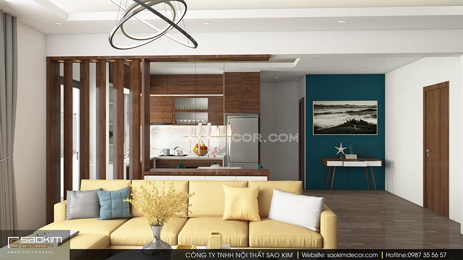 Thiết kế cải tạo chung cư cũ CT1A Hàm Nghi