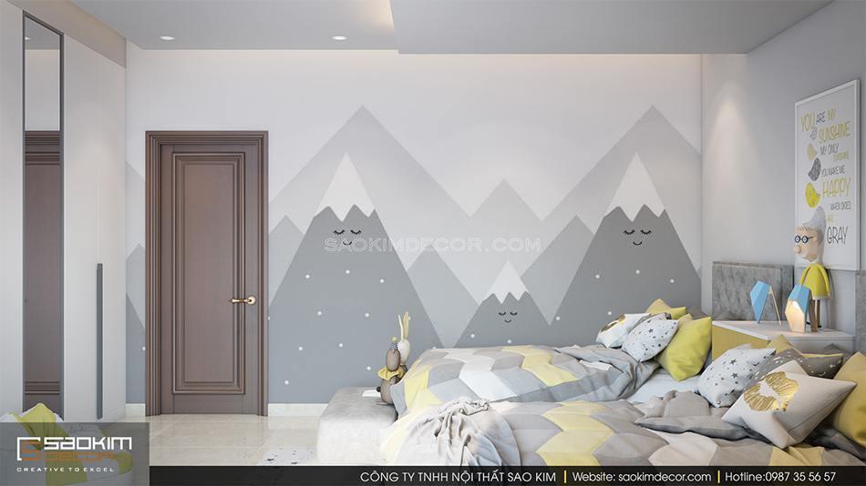 Thiết kế phòng ngủ cho bé chung cư 6TH Element