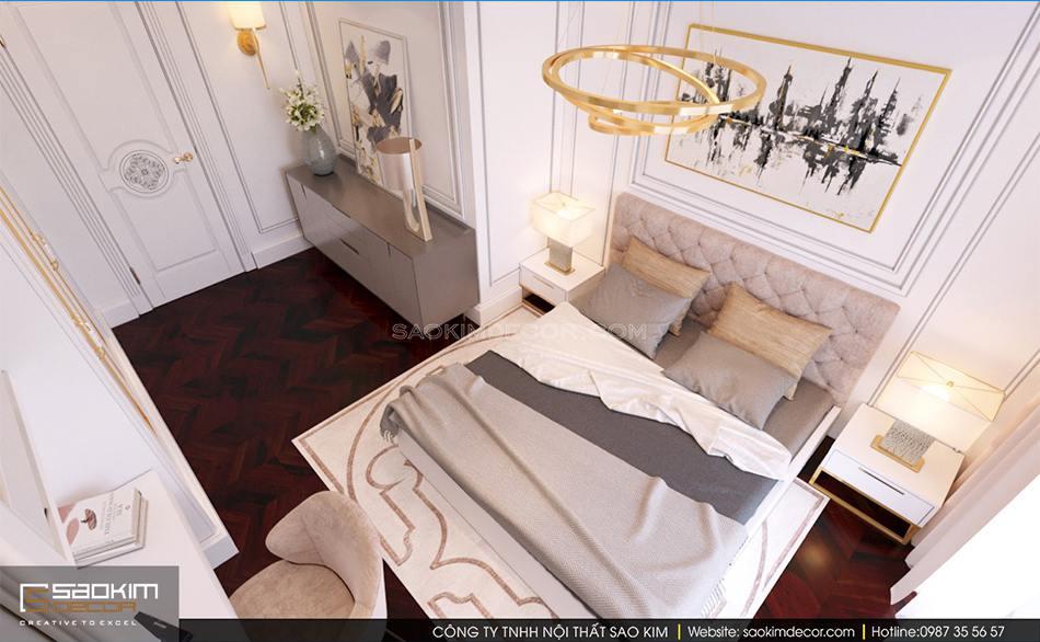 Thiết kế phòng ngủ chung cư cao cấp Royal City