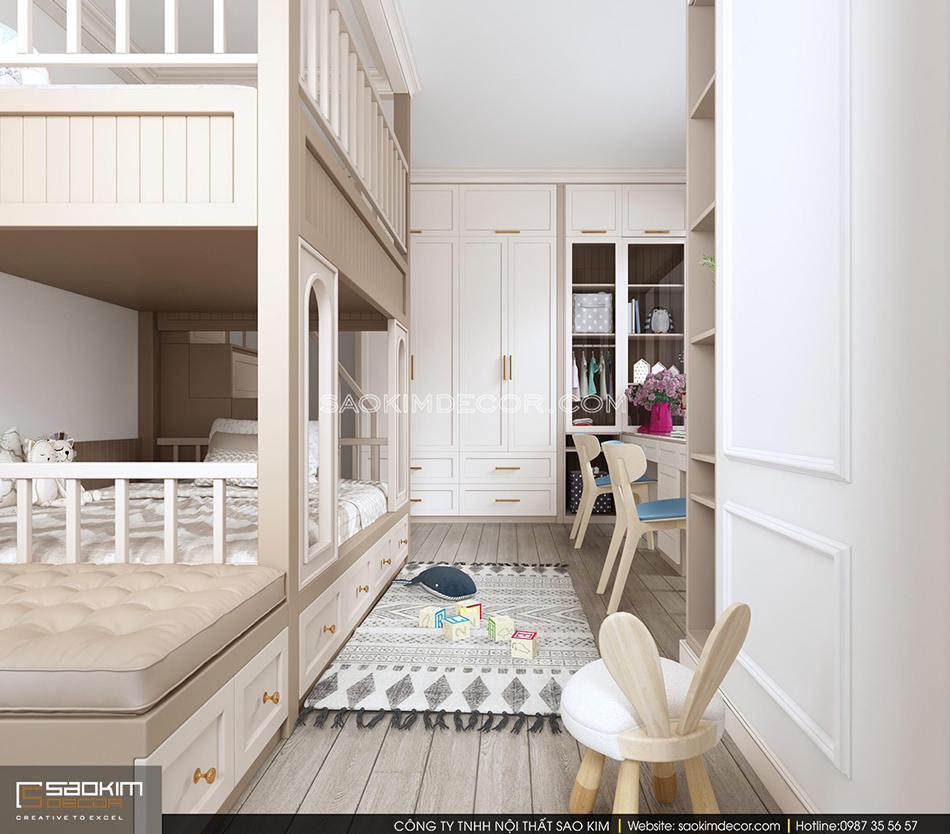 Thiết kế các ngăn đồ thông minh, tận dụng tối ưu không gian phòng ngủ