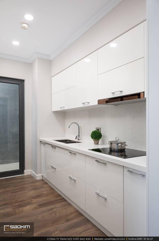 Thiết kế và thi công phòng bếp chung cư