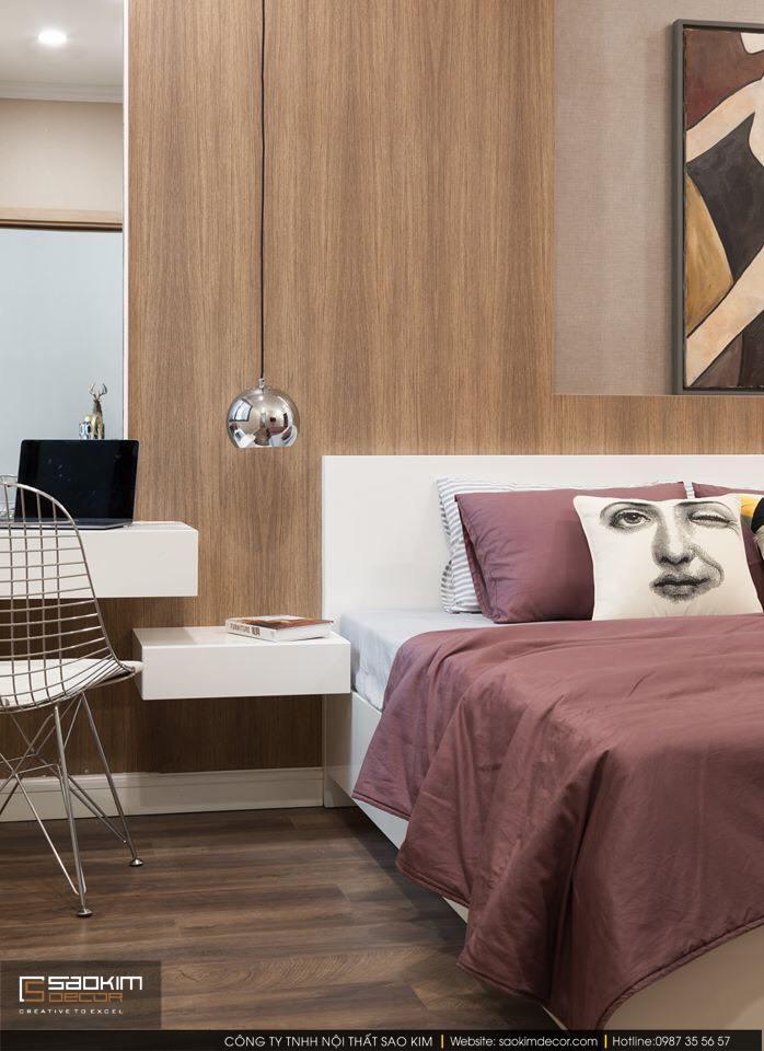 Thiết kế và thi công phòng ngủ master