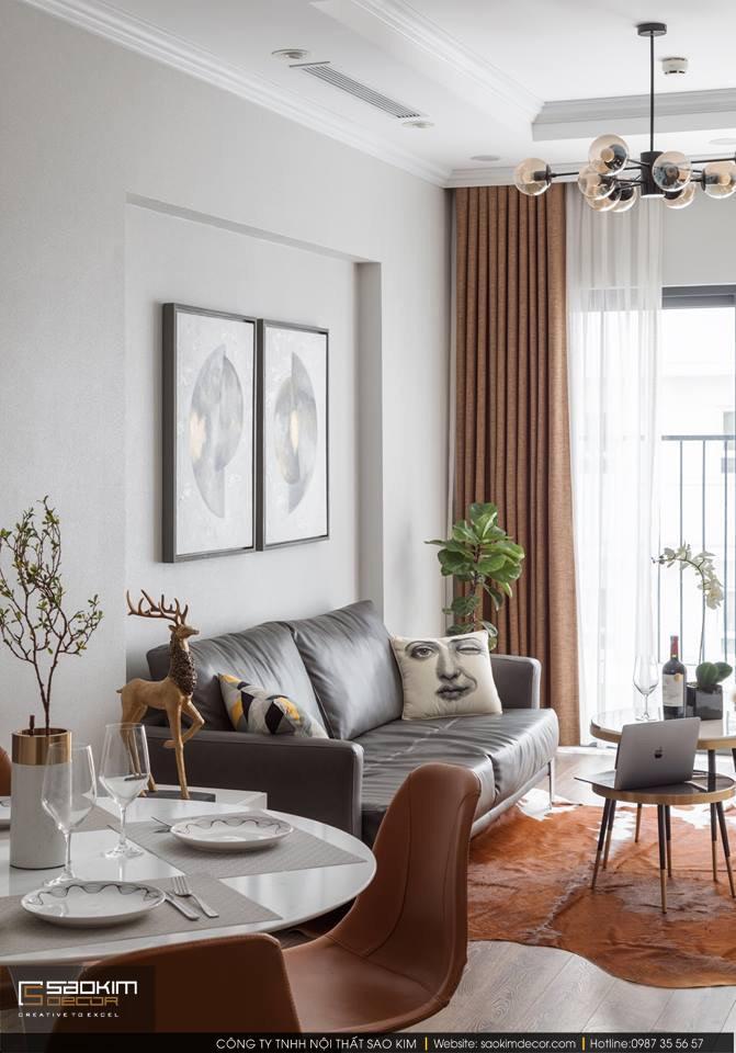Thiết kế và thi công phòng khách