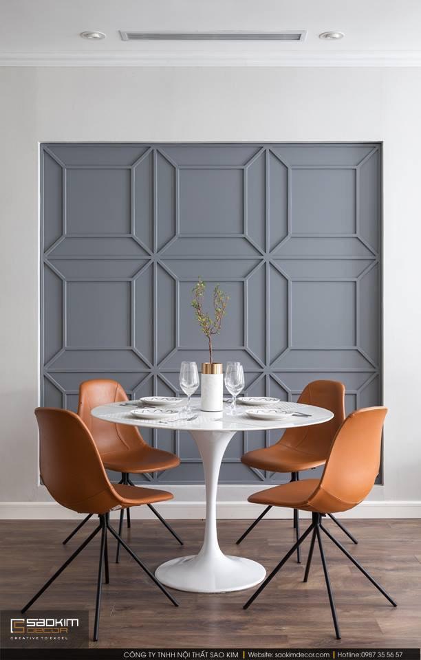 Thiết kế và thi công phòng ăn chung cư theo phong cách Scandinavian