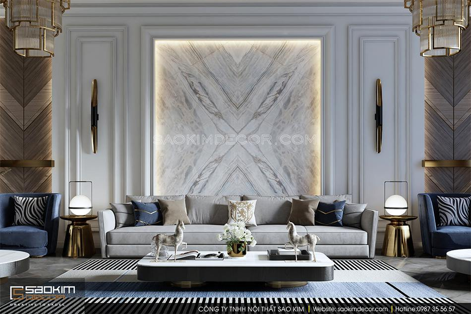 Chạy theo xu hướng thiết kế nội thất chung cư mới