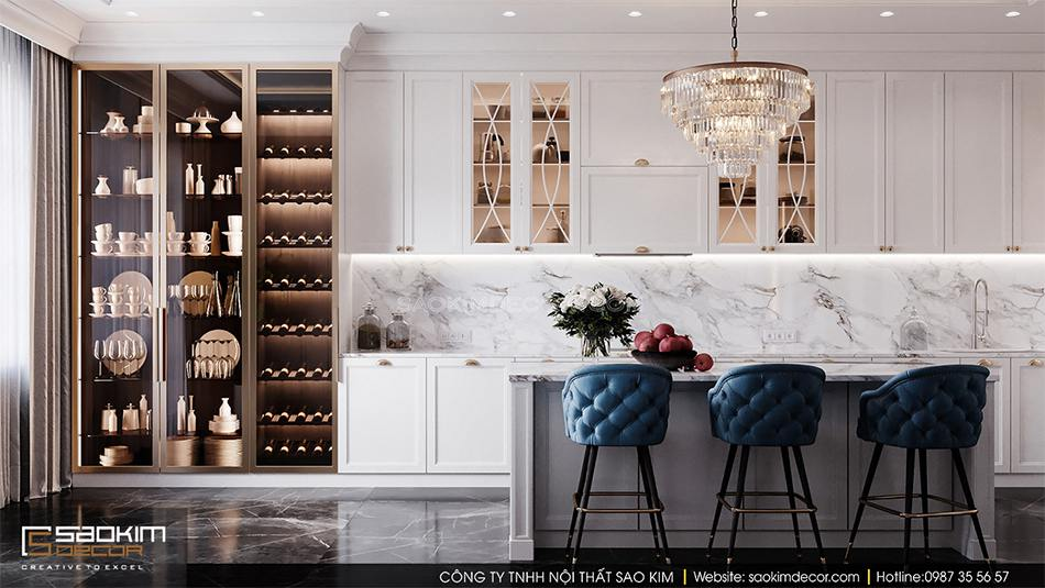 Cần tạo được điểm nhấn khi thiết kế nội thất chung cư hay nhà ở