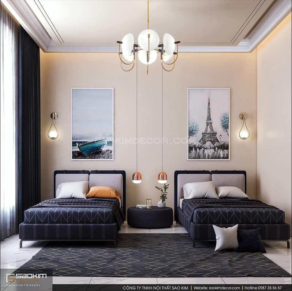 Các không gian trong bản thiết kế nội thất chung cư cần có sự liên kết