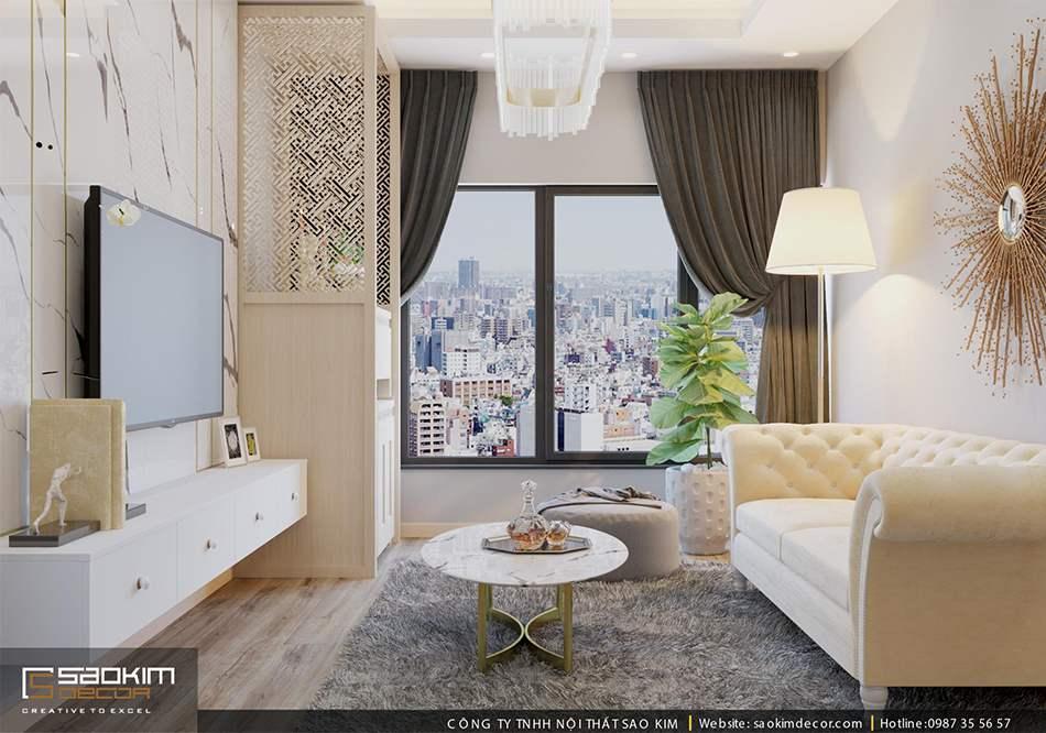 Thiết kế căn hộ chung cư 80m2