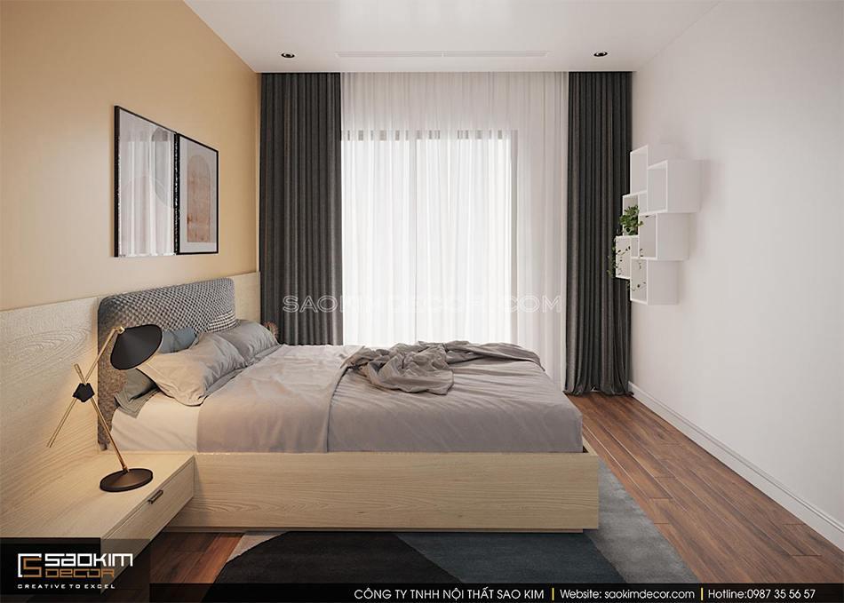 Thiết kế phòng ngủ chung cư phong cách Đài Loan