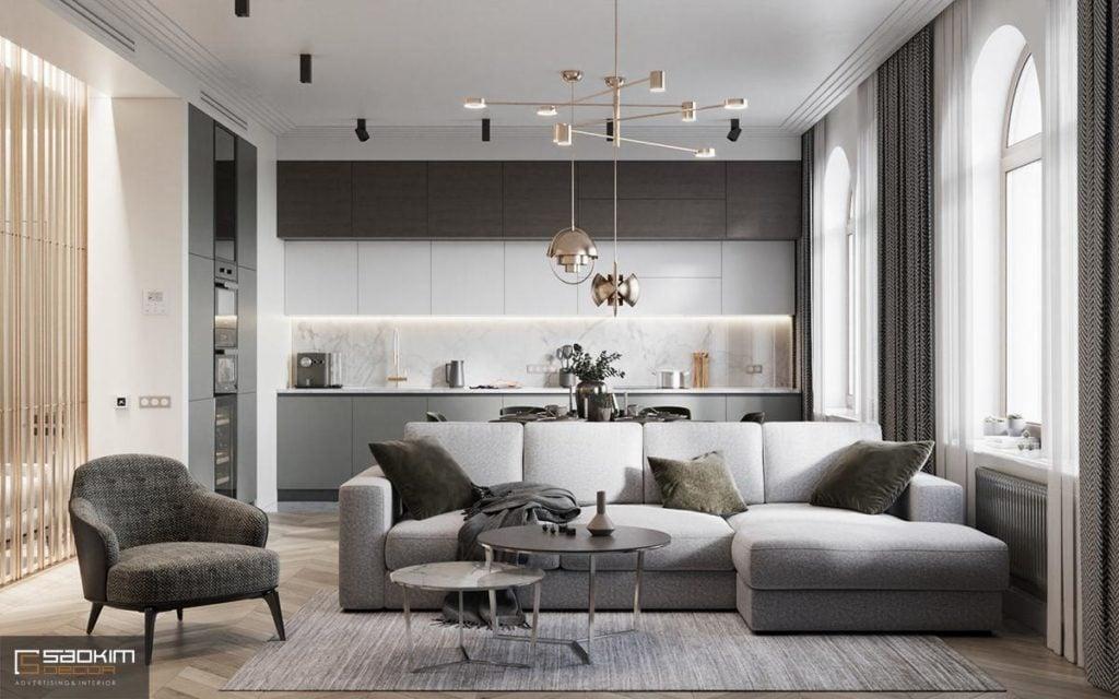 Thiết kế nội thất chung cư 66m2 đẹp