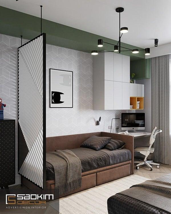 Thiết kế căn hộ chung cư diện tích 66m2