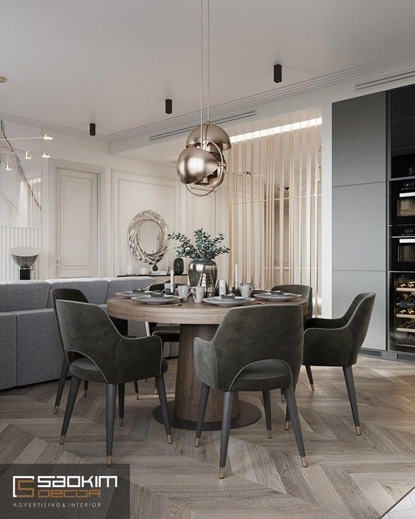 Thiết kế chung cư đẹp, tiện nghi nâng cao giá trị sử dụng và đẳng cấp của gia chủ