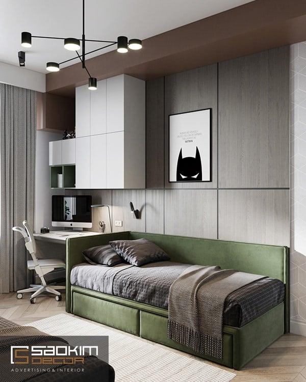 Thiết kế căn hộ chung cư 66m2