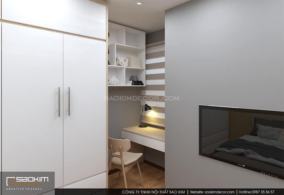 Thiết kế nội thất phòng ngủ 3
