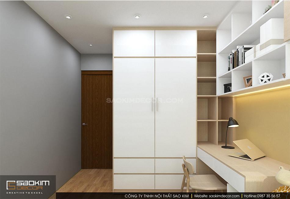 Thiết kế phòng ngủ cho bé chung cư An Bình City