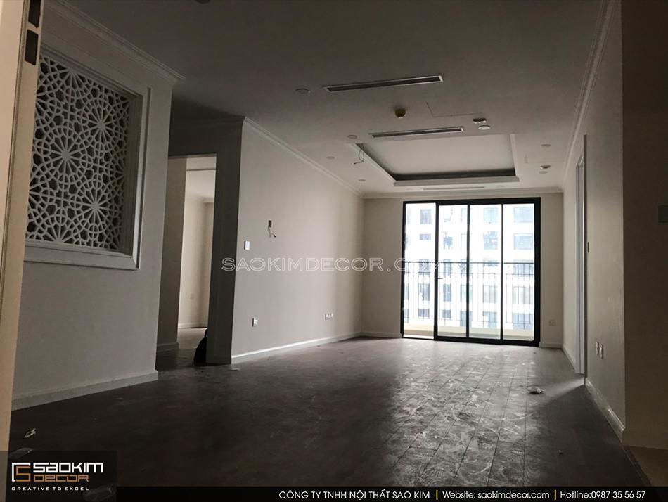 Nắm rõ hiện trạng căn hộ được bàn giao để dễ dàng ước tính chi phí thiết kế nội thất chung cư giá bao nhiêu