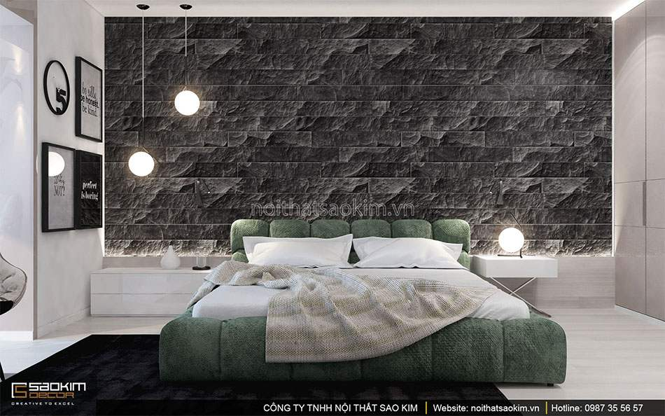 Thiết kế phòng ngủ 3 căn hộ duplex - Golden Westlake