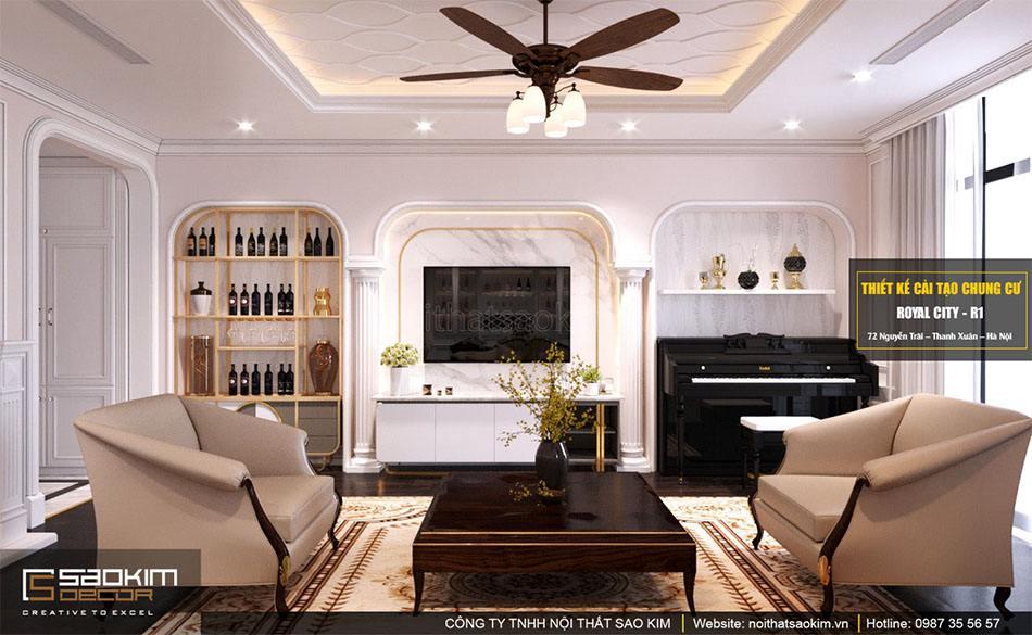 Thiết kế nội thất là các hoạt động thiết kế, sắp xếp, trang trí những vật dụng nội thất