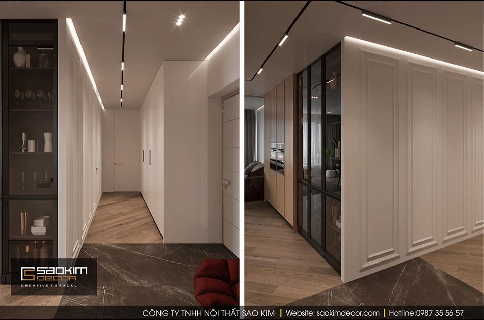 Thiết kế nội thất chung cư Hateco La Roma