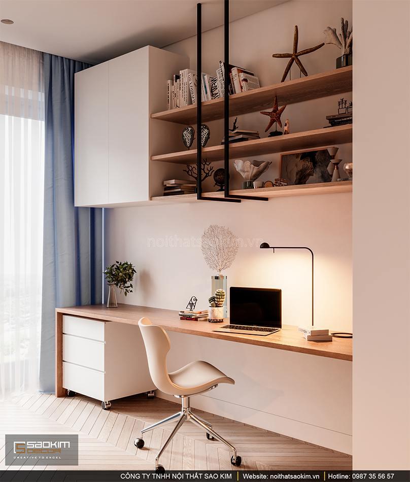 Thiết kế phòng làm việc riêng tại nhà