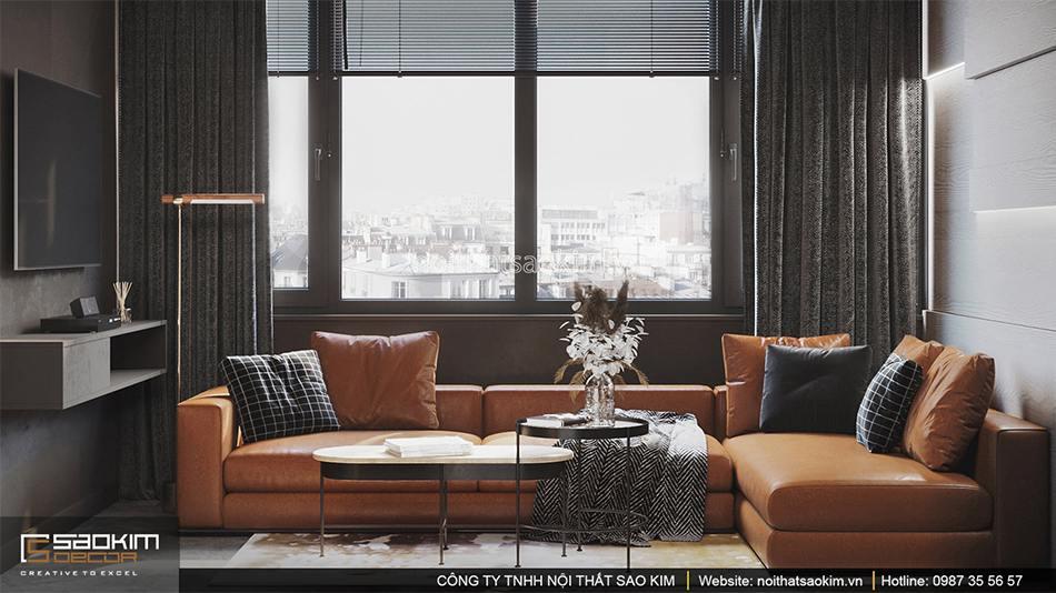 Thiết kế căn hộ chung cư Vinhomes Smart City theo phong cách Scandinavian