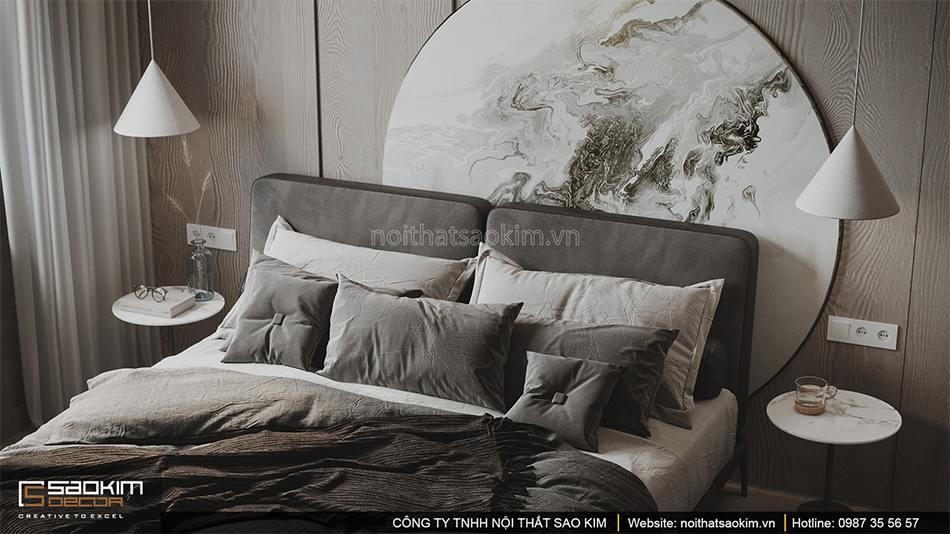 Thiết kế phòng ngủ chung cư Vinhomes Smart City