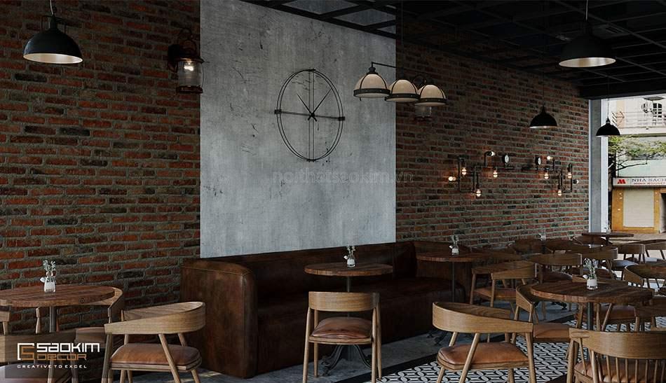 Thiết kế nhà liền kề Văn Phú với tầng 1 là không gian quán cafe