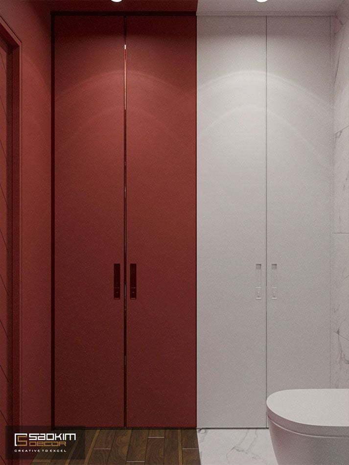 Thiết kế phòng tắm căn hộ chung cư