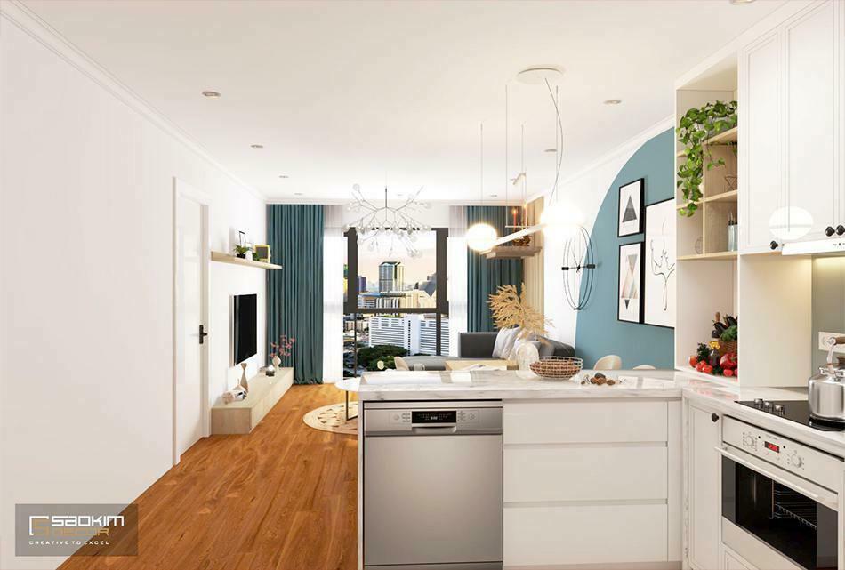 Thiết kế căn hộ phong cách Scandinavian dự án Sunshine Garden