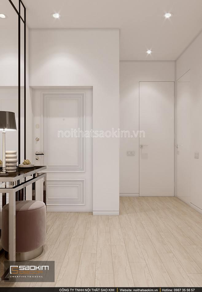 Khu vực tiền sảnh căn hộ