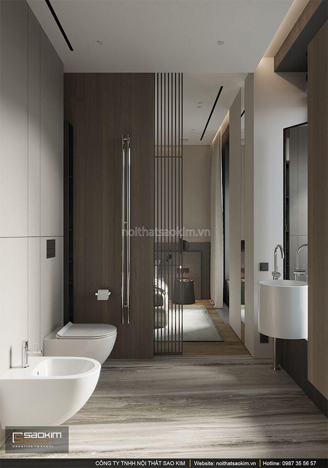 Thiết kế phòng tắm căn hộ Indochina Plaza