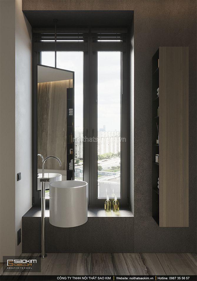 Thiết kế phòng tắm chung cư Indochina Plaza
