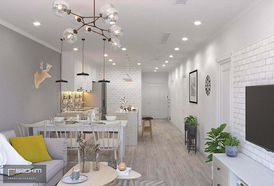 Thiết kế nhà chung cư đẹp Sunshine Garden