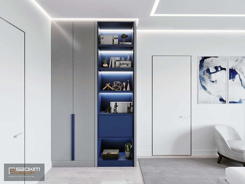 Tạo điểm nhấn chính cho thiết kế nội thất tối giản