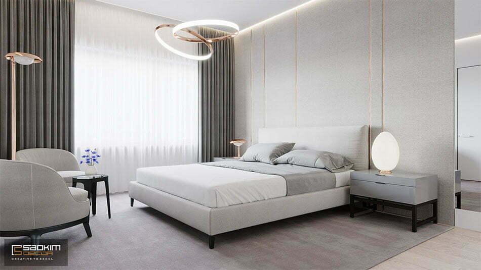 Thiết kế nội thất tối giản mang đến cảm xúc tích cực nhờ cách bố trí đồ đạc ngăn nắp, gọn gàng và có ý đồ
