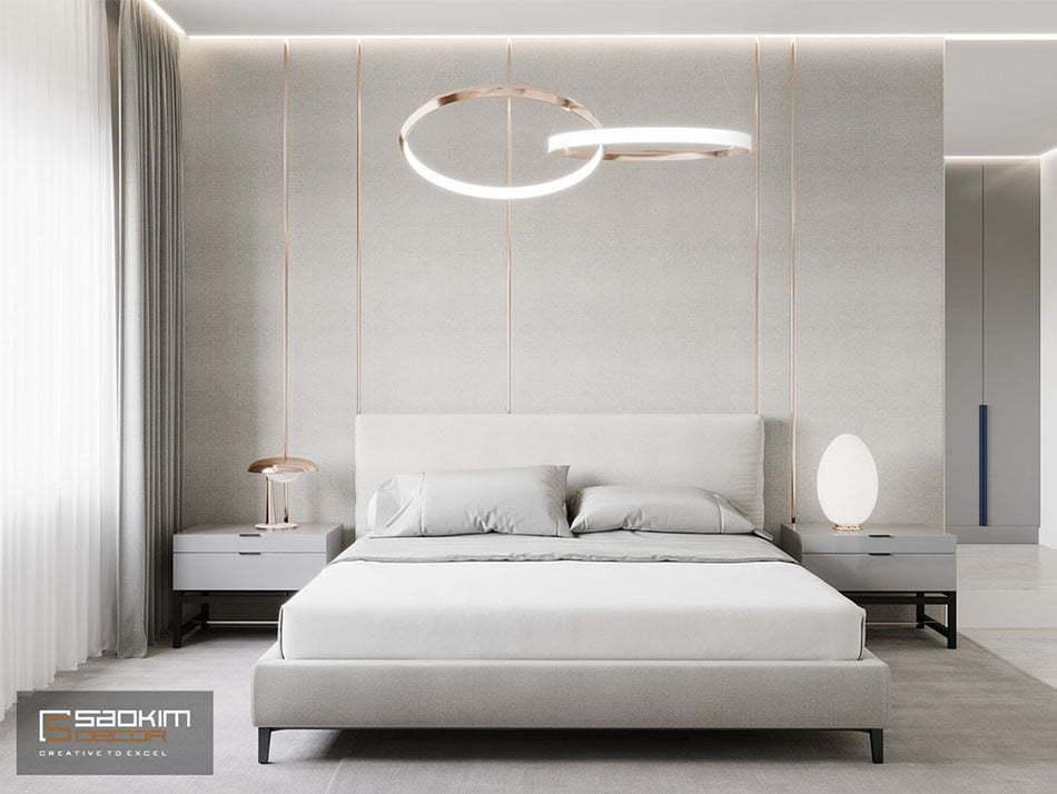 Thiết kế nội thất tối giản bố trí không gian một cách hoàn hảo mang vẻ đẹp tự do, phóng khoáng và nhẹ nhàng