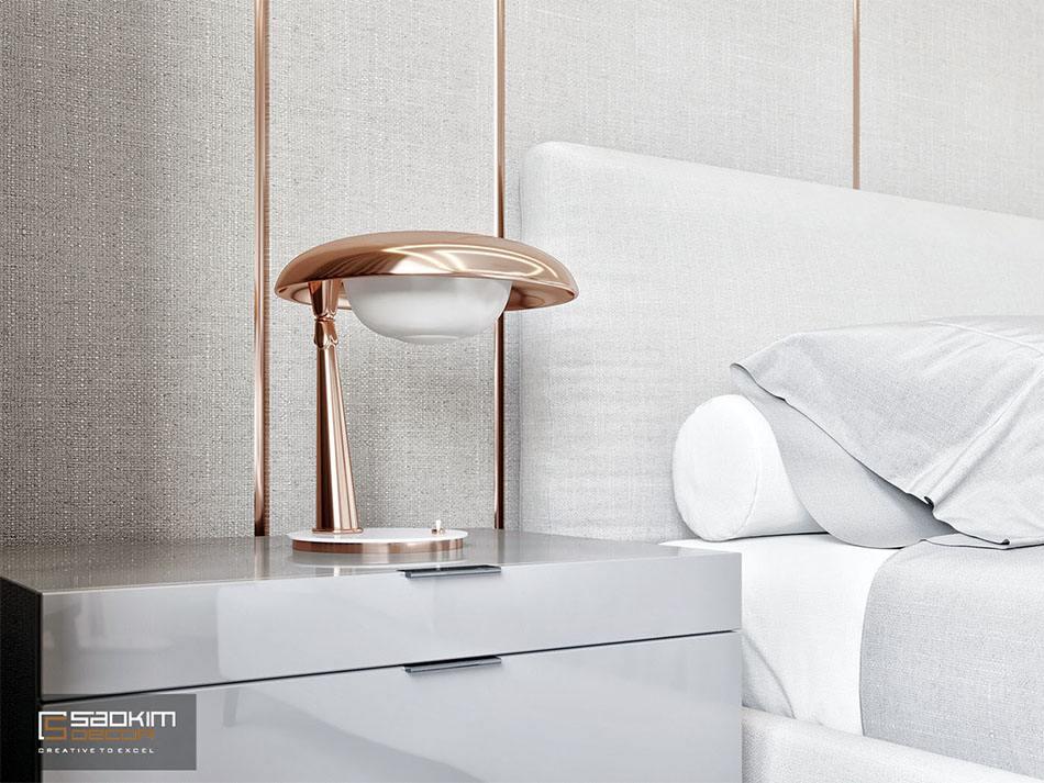 Chi tiết nội thất sắc nét trong không gian minimalist
