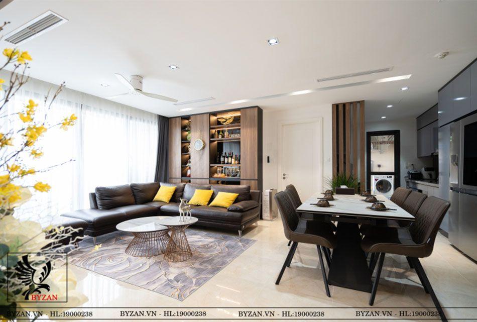 Byzan-Hình ảnh thiết kế nội thất chung cư tại Hà Nội