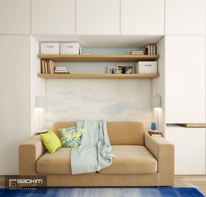 Thiết kế nội thất chung cư 25m2