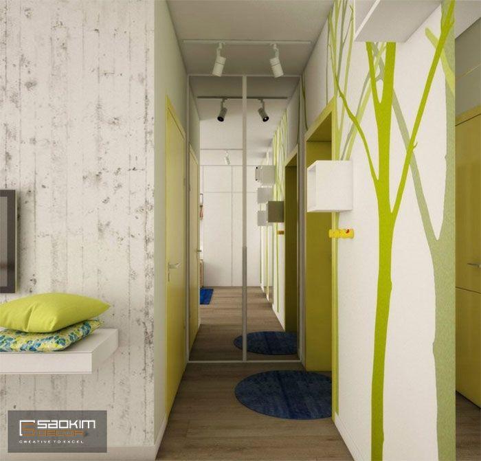 Thiết kế chung cư 25m2 cho thuê