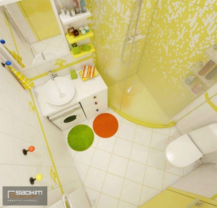 Thiết kế nội thất phòng tắm chung cư cho thuê